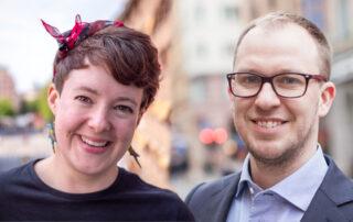 Anna Engman och Jesper Larsson