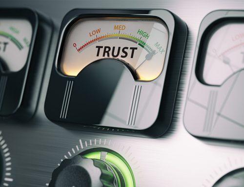Allt börjar med tillit